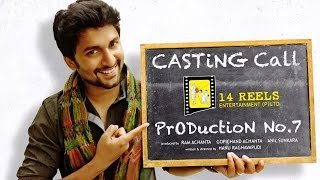 Nani Starrer | 14 Reels Casting Call For Kids | Latest Movies 2015