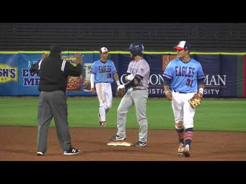 2018 SAC Baseball Tournament: Carson-Newman V. Lincoln Memorial 4-27-18