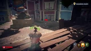 Растение против Зомби битва за нейборвиль прохождение центр городачасть 3