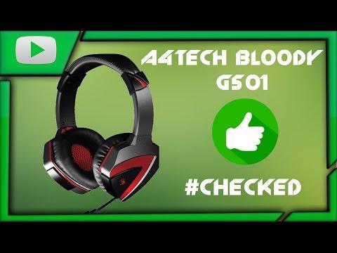 A4TECH BLOODY G501-ЛУЧШИЕ БЮДЖЕТНЫЕ НАУШНИКИ[#CHECKED]