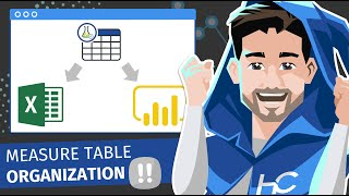 خلق داكس التدابير الجدول في السلطة ثنائية أو Excel