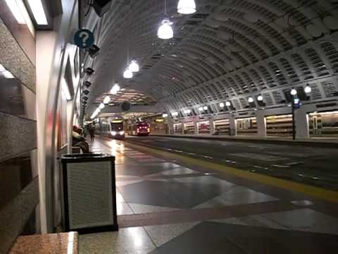 downtown transit tunnel, Pioneer Square, Seattle