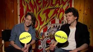 "Kristen Stewart And Jesse Eisenberg Play ""Never Have I Ever"" With BuzzFeed"