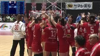 JAPAN CUP 2019渋谷(WOMEN) フランス戦ダイジェスト