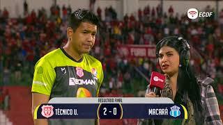Walter Chavez Mejor Jugador Del Partido Tec. Universitario Vs Macara - Copa Ecuador