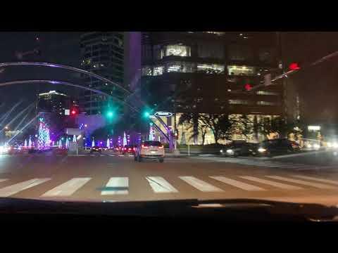 Post Oak Blvd, Uptown Houston, December 6th