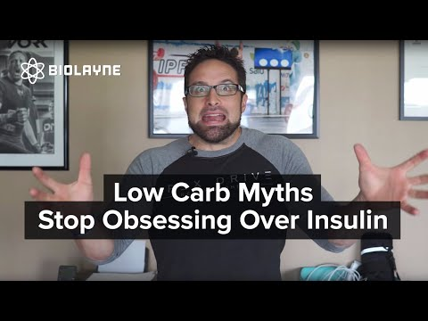 Low Carb Myths Stop Obsessing Over Insulin