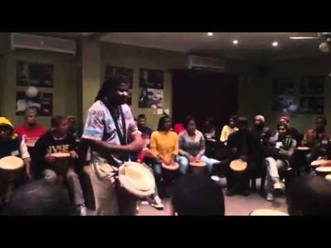 Juma Drums Drumming Workshop MOT Youth 30 May 2015