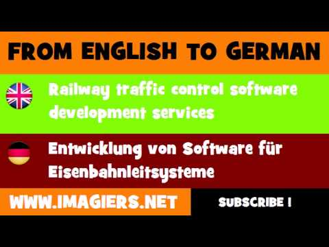 FROM ENGLISH TO GERMAN = Railway traffic control software development services