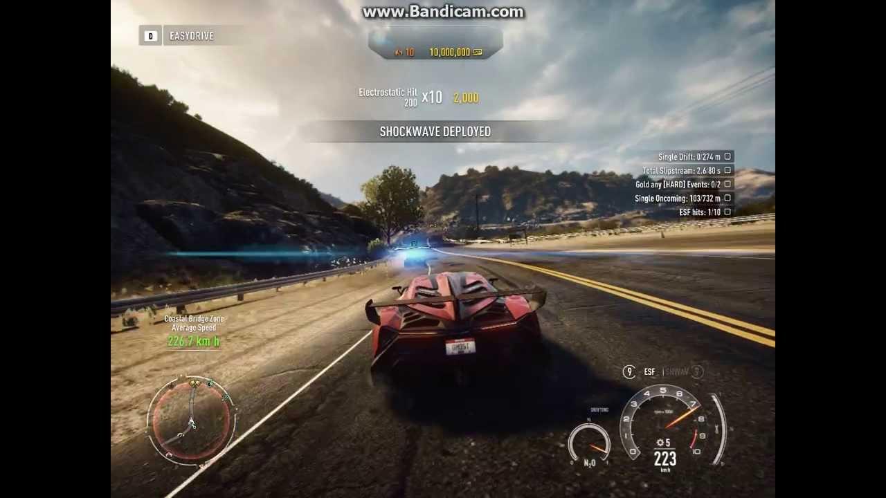 Need For Speed Rivals Lamborghini veneno gameplay part 1 ...
