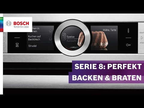 Bosch HNG6764B6 Serie 8 Elektrobackofen - der Highend-Alleskönner