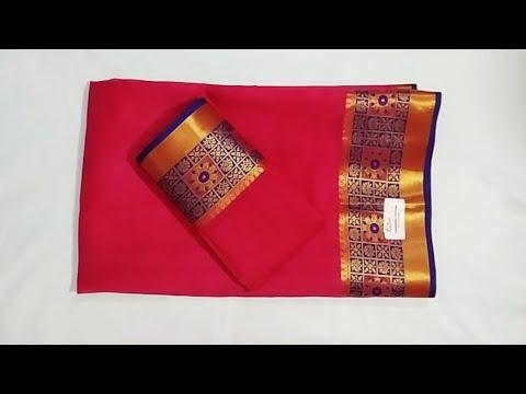 paithni-saree-blouse-back-neck-design|cutting-and-stitching-back-neck-blouse-design|