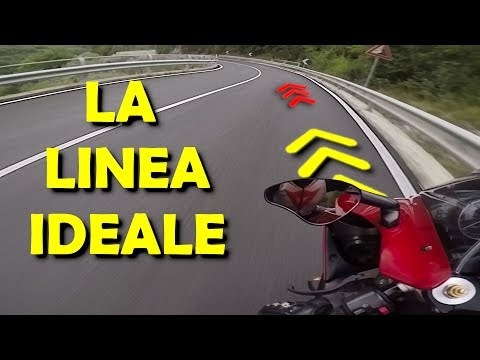 Qual è La LINEA IDEALE In MOTO ? | Come GUIDARE In MOTO Su STRADA