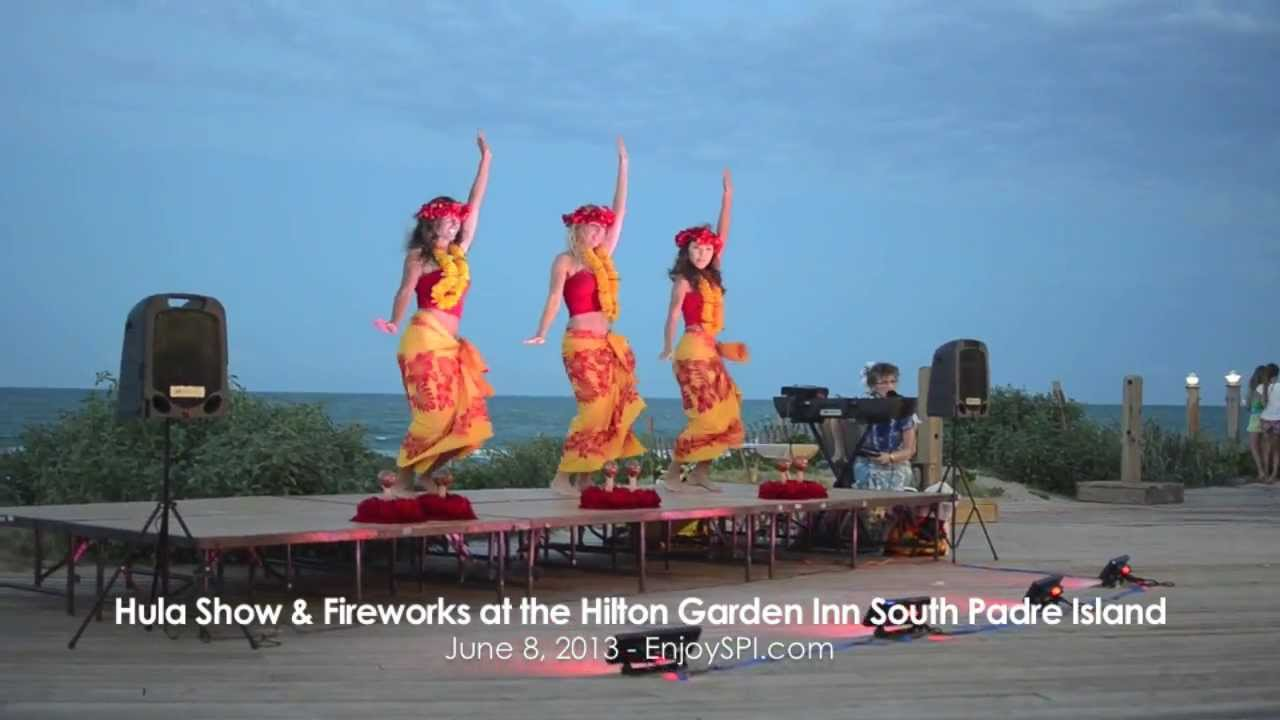 Saturday Hula Show U0026 Fireworks South Padre Island
