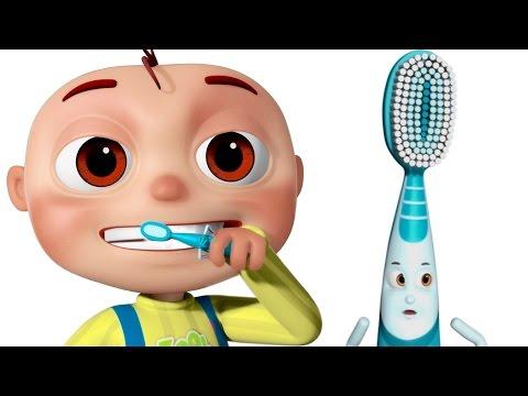Brushing Song | Brush Your Teeth Song | Good Habits Nursery Rhymes For Babies & Kids Songs
