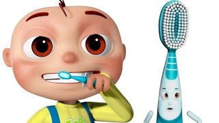 Brushing Song | Brush Your Teeth Song | Good Habits Nursery Rhymes For Babies & Kids Songs