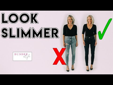How To INSTANTLY Look Slimmer! 10 Style Tricks. http://bit.ly/2WDEyq3