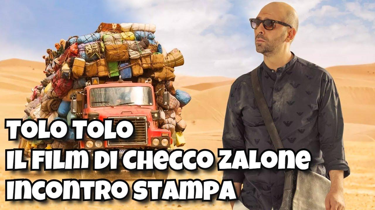 Tolo Tolo - Il film di Checco Zalone - Incontro stampa ...