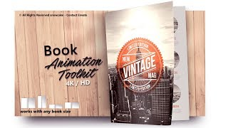 After Effects Buch-Flip-Animation Toolkit 4K HOT-2019