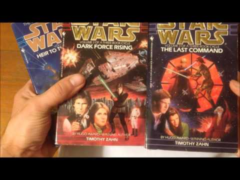 Star Wars Expanded Universe Book Collection