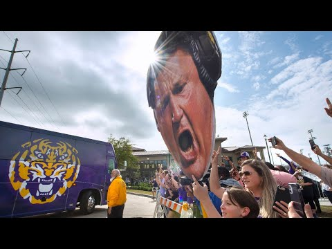 LSU football national