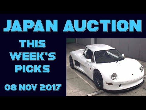 Japan Weekly Auction Picks 045 - 08 Nov 17
