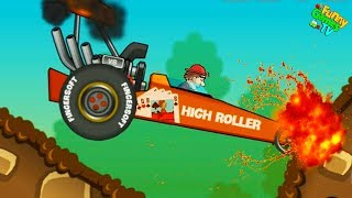 HCR#8 ЧЕЛЛЕНДЖ видео     про машинки гонки тачки красочные машинки и много трасс