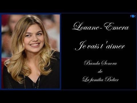 Je Vais T'aimer - Louane-Emera - Lyrics- V-O- HD.