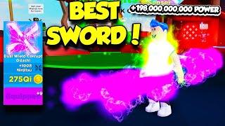 I GOT THE STRONGEST DUAL WIELD SWORD IN NINJA LEGENDS AND IT'S OP!! (Roblox)