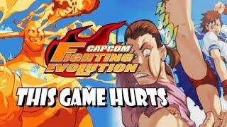 THIS GAME HURTS - Sakura Legacy: Capcom Fighting Evolution (Xbox)
