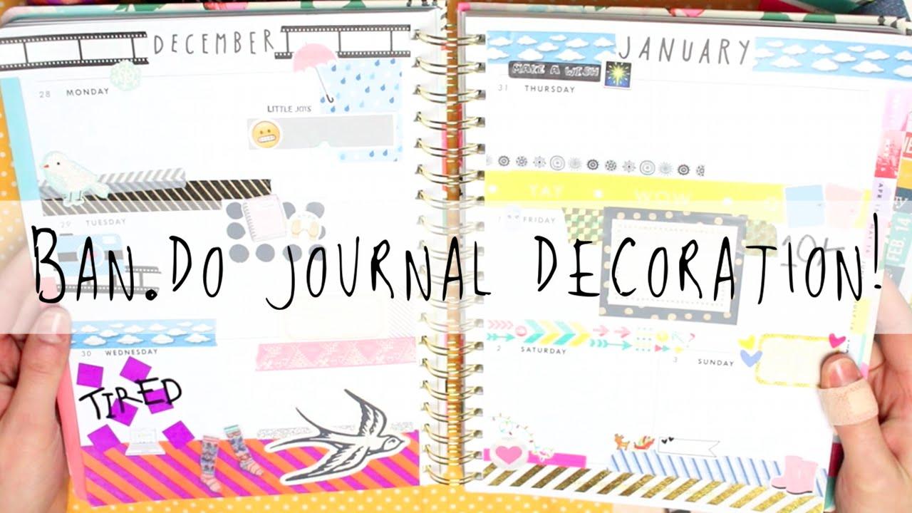 Ban.do Journal Decoration!