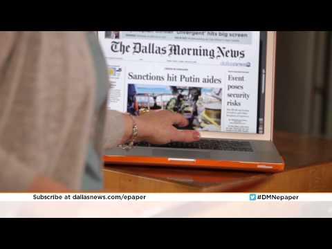Dallas Morning News ePaper