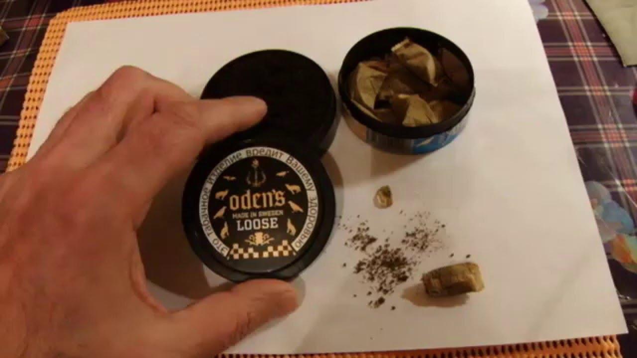 Шведский снюс Oden's Extreme Portion.Первые впечатления - YouTube