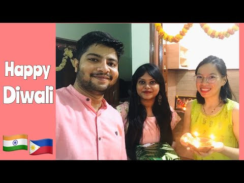 Happy Diwali!!!  Filipina & Indian couple | Bangalore, India