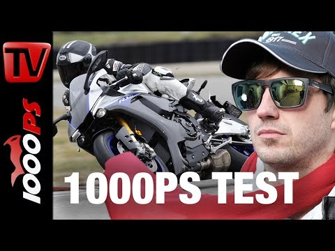 1000PS Test - Yamaha YZF-R1M 2018 - Perfekt platziertes Update
