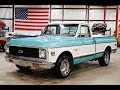1972 Chevy C10 Super Teal
