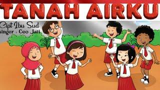 Terbaik    Lagu Tanah Airku    cover by Ceo Jati Atmodjo