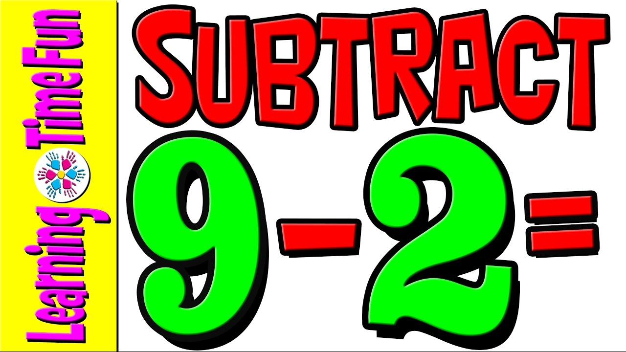 Subtract | Subtraction by 2 | Math for Kids | Math Help | Basic Math ...