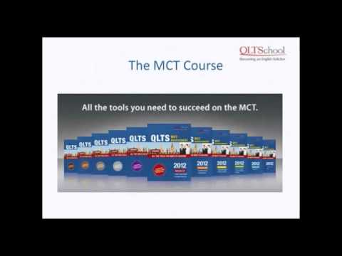 QLTS School webinar: Introduction to the QLTS - May 2012