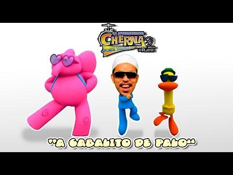Jose David La Cherna   A Caballito De Palo version infantil