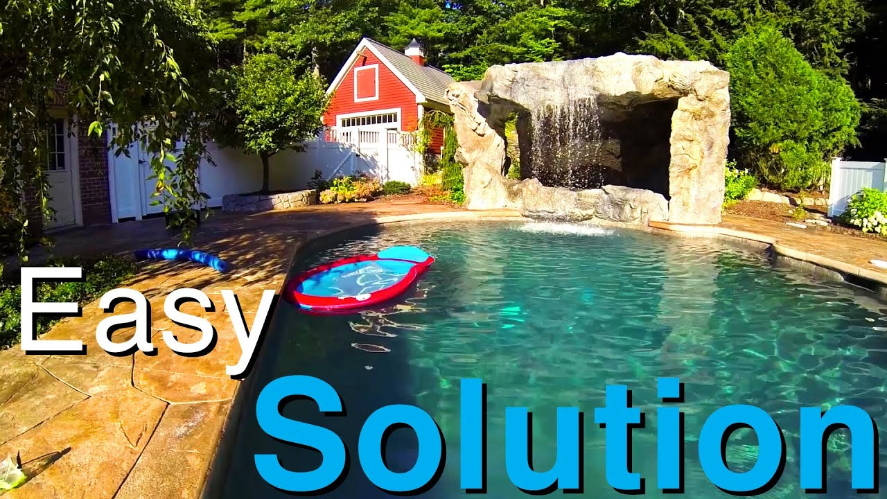 outdoor water features an easy solution youtube