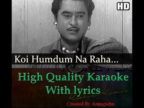 koi humdam na karaoke with lyrics High Quality
