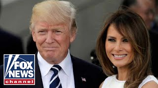 Trump, First Lady Melania welcome South Korea's Moon Jae-in and his wife