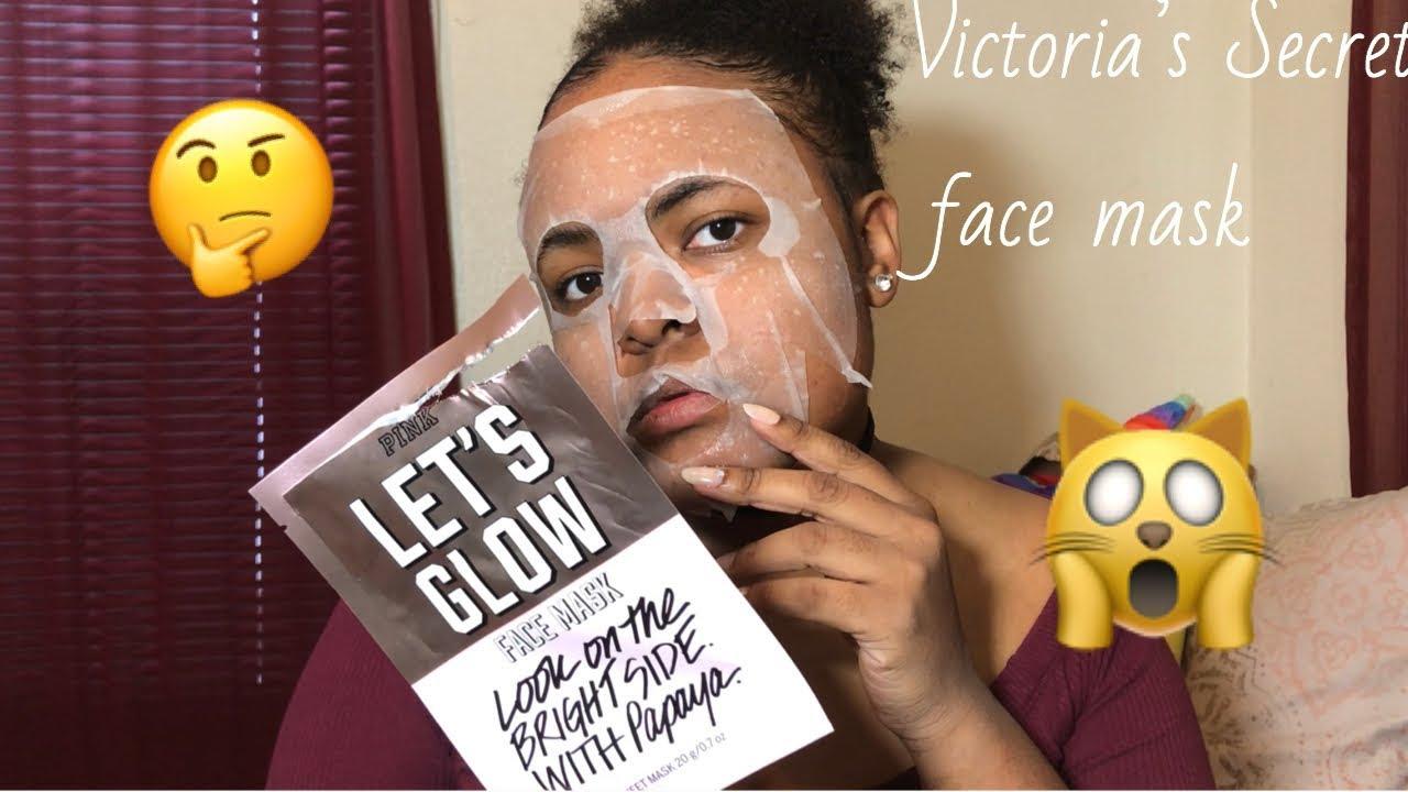947b5108b5de9 Victoria's Secret Face mask review