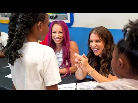 WWE Superstars visit St. Jude's Children's Research Hospital