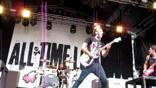 All Time Low - Weightless @ ankkarock 2010 Finland