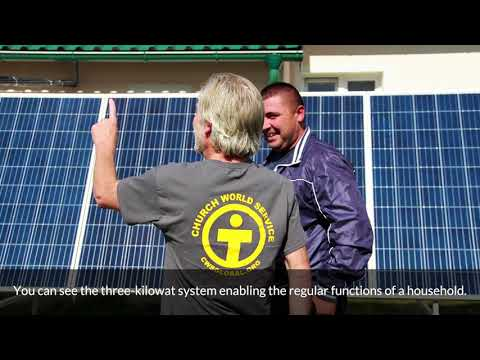 Solar power in Bosnia - the difference electricity makes