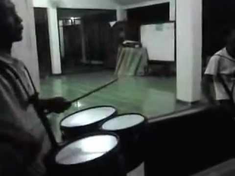 Latihan musik buat takbir idul adha 1433H