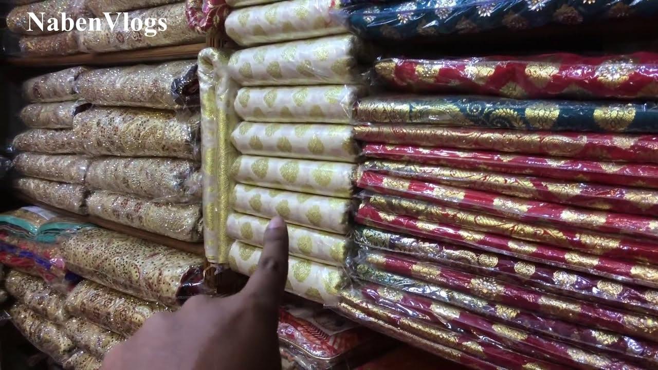c678963fd5 Кадр из видео Banarasi Saree Wholesale Market In Bd | Best Place To Buy  Banarasi Saree