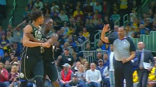 Giannis Antetokounmpo Almost Fights Ref After Getting Ejected!